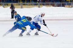 Dynamo(w) vs Zorkij(b) Royalty Free Stock Photos