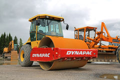 Dynapac Drum Roller Compactor stock images