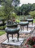 Dynastic urns Royalty Free Stock Photography