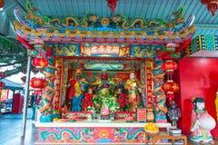 Dynasty Chinese temple. Dynasty Chinese temple sculptures Royalty Free Stock Photo
