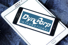 Dyncorp security logo Stock Photo