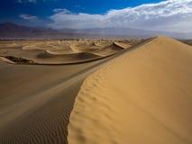 Dynfält i Death Valley Royaltyfri Foto