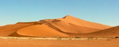 Dynhav av den Namib öknen Royaltyfri Fotografi