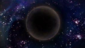 Dyniowa księżyc Sumaryczny Księżycowy zaćmienie royalty ilustracja