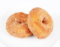 Dyniowi donuts Zdjęcia Royalty Free