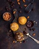 Dyniowi muffins obraz royalty free