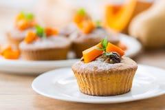Dyniowi muffins Obraz Stock