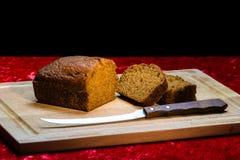 Dyniowy chleb Fotografia Stock