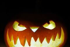 Dyniowy Halloween Zdjęcia Stock