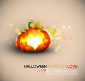 dyniowy Halloween podesłanie ilustracja wektor