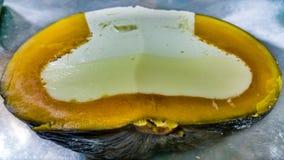 Dyniowy i jajeczny custard obrazy stock