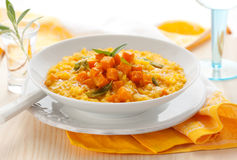 dyniowy risotto Obrazy Stock