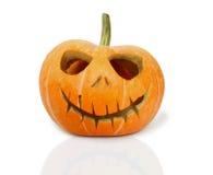 dyniowy tło biel eps8 Halloween obraz royalty free