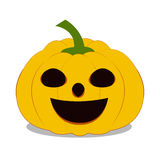 dyniowy tło biel eps8 Halloween Fotografia Stock