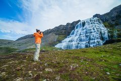 Dynjandi. Iceland Stock Photography
