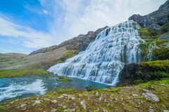 Dynjandi. Iceland Royalty Free Stock Photo
