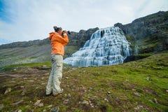 Dynjandi. Iceland Royalty Free Stock Image