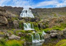 Dynjandi. Iceland stock photography