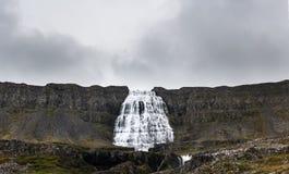 Dynjandi-Wasserfall Island Lizenzfreie Stockbilder