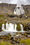 Dynjandi waterfall - Iceland Stock Images