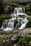 Dynjandi, a Waterfall in Iceland Royalty Free Stock Photos