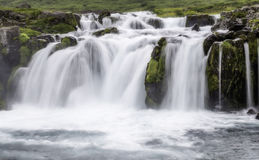 Dynjandi, a Waterfall in Iceland Stock Photography