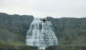 Dynjandi waterfall Royalty Free Stock Photos