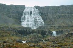 Dynjandi waterfall Royalty Free Stock Photography