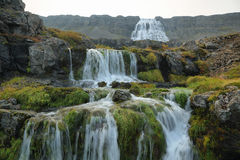 Dynjandi waterfall. In Westfjords, Iceland Stock Images