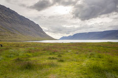 Dynjandisvogur fjord - Iceland. Royalty Free Stock Images