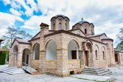 Dyonisos Olymp Mountain monastery Stock Photos