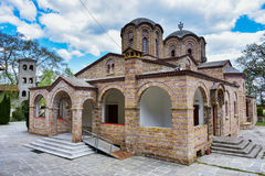 Dyonisos Olymp Mountain monastery Stock Images