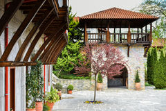 Dyonisos Olymp Mountain monastery Royalty Free Stock Image