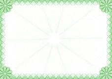 dyplom rama Obrazy Royalty Free