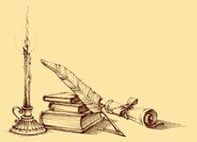Dyplomu i świadectwa projekt ilustracja wektor