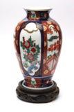 dyr vase för porslin Arkivfoto