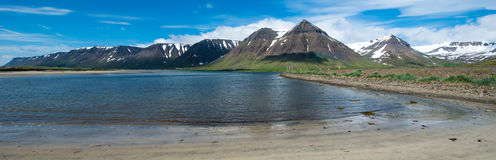 Dyrafjordur, Westfjords, Iceland Royalty Free Stock Photography