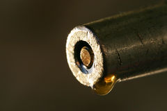 dyrbar droppmakroolja Royaltyfri Fotografi