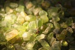 Dyrbar och Halv-dyrbar sten Arkivbilder