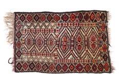 Dyrbar persisk matta på vit bakgrund Arkivbild