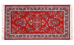 Dyrbar persisk matta på vit bakgrund Arkivbilder