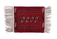 Dyrbar persisk matta på vit bakgrund Royaltyfri Foto