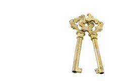 dyrbara guld- forntida tangenter Arkivfoto