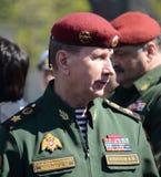 Dyrektor Federacyjna usługa gwardia narodowa oddziały wojskowi federacja rosyjska, wojsko generał Viktor Zolotov Zdjęcie Stock