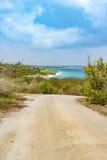 Dyrektor zatoki Curacao widoki Obrazy Stock