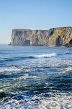 Dyrholaey自然曲拱南海岸冰岛 免版税库存照片