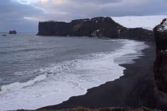 Dyrholaey, Исландия Стоковые Изображения