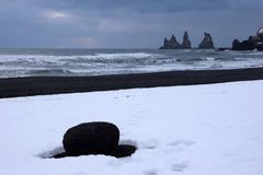 Dyrholaey, Исландия Стоковые Фото