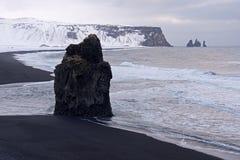 Dyrholaey, Исландия Стоковое Изображение RF