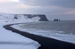 Dyrholaey, Исландия Стоковые Изображения RF